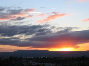 Sunset on 11-15-07 in San Miguel de Allende