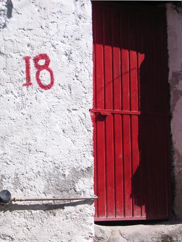 red door #18