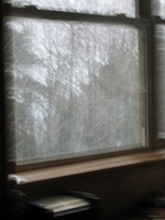 snowing in Suquamish 12-2-07